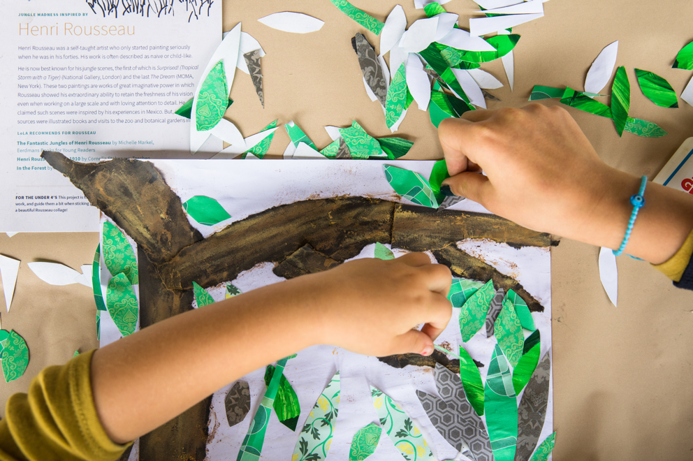 LoLA Tremendous Tree box is inspired by real artitsts